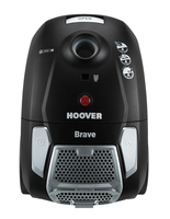 Hoover Brave Zylinder-Vakuum 2.3l 700W A Schwarz (Schwarz)