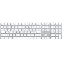 Apple MQ052LB/A Bluetooth QWERTY US Englisch Weiß Tastatur (Weiß)