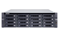 QNAP TS-1673U-RP NAS Rack (3U) Eingebauter Ethernet-Anschluss Schwarz (Schwarz)