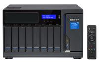 QNAP TVS-882BR NAS Desktop Eingebauter Ethernet-Anschluss Schwarz (Schwarz)