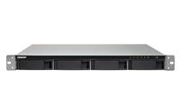 QNAP TS-453BU-RP NAS Rack (1U) Eingebauter Ethernet-Anschluss Schwarz, Grau (Schwarz, Grau)