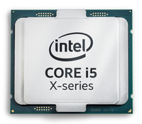 Intel Core ® ™ i5-7640X X-series Processor (6M Cache, up to 4.20 GHz) 4GHz 6MB Smart Cache Box Prozessor