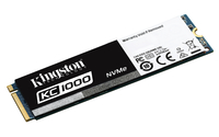 Kingston Technology KC1000 NVMe PCIe SSD 240GB, M.2 PCI Express 3.0 (Schwarz, Weiß)