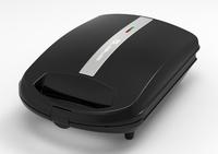 Emerio ST-111153 1100W Schwarz Sandwich-Toaster (Schwarz)