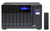 QNAP TVS-882BRT3 NAS Desktop Eingebauter Ethernet-Anschluss Schwarz (Schwarz)