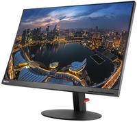 Lenovo ThinkVision T24d 24Zoll Full HD IPS Schwarz Flach Computerbildschirm (Schwarz)