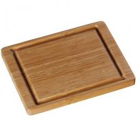WMF 18.8686.9990 Rechteckig Bambus Braun Küchen-Schneidebrett (Braun)
