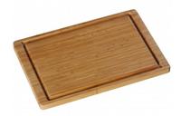 WMF 18.8687.9990 Rechteckig Bambus Holz Küchen-Schneidebrett (Holz)