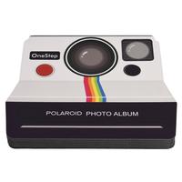 Polaroid PL2X3SBOSW Schwarz, Weiß Fotoalbum (Schwarz, Weiß)