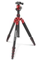 Manfrotto Element Digitale Film/Kameras 3Bein(e) Rot Stativ (Rot)