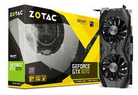 Zotac GeForce GTX 1070 AMP Core Edition GeForce GTX 1070 8GB GDDR5 (Schwarz, Grau)