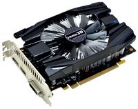 Inno3D GeForce GTX1060 Compact X1 GeForce GTX 1060 6GB GDDR5 (Schwarz)