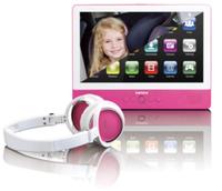 Lenco TDV-900 16GB Weiß Tablet (Pink, Weiß)
