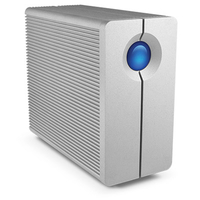 LaCie 2big Quadra USB 3.0 120000GB Desktop Silber Disk-Array (Silber)