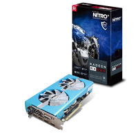 Sapphire 11265-21-20G Radeon RX 580 8GB GDDR5 Grafikkarte (Blau)