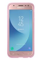 Samsung Jelly Cover Abdeckung Pink,Transparent (Pink, Transparent)