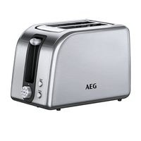 AEG AT7700 2Scheibe(n) 850W Silber Toaster (Silber)
