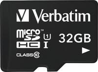 Verbatim Tablet U1 microSDHC-Karte mit USB Reader 32 GB (Schwarz)