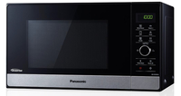 Panasonic NN-GD38HSGTG Arbeitsfläche Kombi-Mikrowelle 23l 1800W Schwarz Mikrowelle (Schwarz)