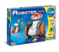 Clementoni 69412 Programmierbarer Roboter Unterhaltungs-Roboter (Grau, Orange, Weiß)