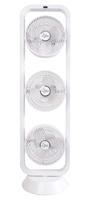 SUNTEC CoolBreeze 9.500 Tri-Vario TV+ Haushaltsturmventilator 105W Weiß (Weiß)