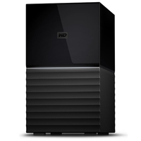 Western Digital My Book Duo 16000GB Desktop Schwarz Disk-Array (Schwarz)