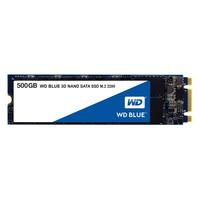 Western Digital Blue 3D NAND SATA SSD 500GB 500GB M.2 M.2 (Schwarz)