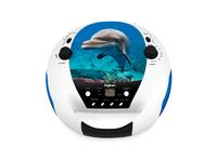 Bigben Interactive CD52DOLPHINMP3USB Portable CD player Mehrfarben CD player (Mehrfarben)