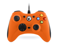 NACON GC-100XF Gamepad PC Schwarz (Schwarz, Orange)
