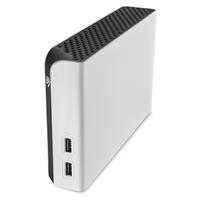 Seagate Game Drive Hub 8000GB Weiß Externe Festplatte (Weiß)