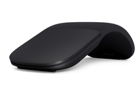 Microsoft Arc Bluetooth BlueTrack 1000DPI Ambidextrös Schwarz Maus (Schwarz)