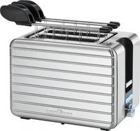ProfiCook PC-TAZ 1110 2Scheibe(n) 1050W Schwarz, Edelstahl Toaster (Schwarz, Edelstahl)