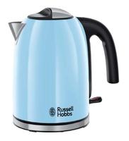 Russell Hobbs Colours Plus+ 1.7l 2400W Blau Wasserkocher (Blau)