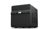 Synology DS418J NAS Desktop Eingebauter Ethernet-Anschluss Schwarz NAS & Speicherserver (Schwarz)