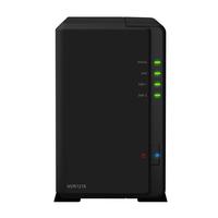 Synology NVR1218 Schwarz Netzwerk-Videorekorder (NVR) (Schwarz)