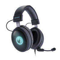NACON PCGH-300SR Binaural Kopfband Schwarz Headset (Schwarz)