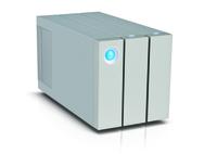 LaCie 2big Thunderbolt 2 8000GB Desktop Silber Disk-Array (Silber)