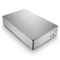 LaCie Porsche Design Desktop Drive 6000GB Silber Externe Festplatte (Silber)
