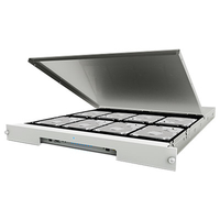 LaCie 8big Rack Thunderbolt 2 24000GB Rack (1U) Grau Disk-Array (Grau)