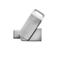 Intenso 64GB cMobile Line 64GB USB 3.0 (3.1 Gen 1) Typ C Silber USB-Stick (Silber)