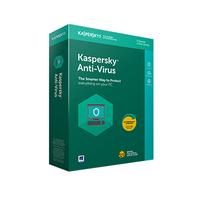 Kaspersky Lab Anti-Virus 2018 1Benutzer Full license Deutsch