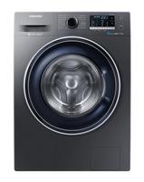 Samsung WW70J5435FX Freistehend Frontlader 7kg 1400RPM A+++-40% Schwarz Waschmaschine (Schwarz)
