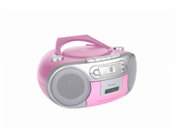 Soundmaster SCD5410PI Analog Pink CD-Radio (Pink)