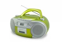 Soundmaster SCD5410GR Analog Grün CD-Radio (Grün)