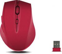 SPEEDLINK CALADO SILENT RF Wireless Optisch 1600DPI rechts Rot Maus (Rot)