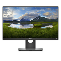 DELL Professional P2418D 23.8Zoll Quad HD LED Matt Flach Schwarz Computerbildschirm LED display (Schwarz)
