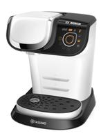Bosch TAS6004 Freistehend Vollautomatisch Pad-Kaffeemaschine 1.3l Weiß Kaffeemaschine (Weiß)