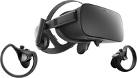 Oculus Rift + Touch Dedicated head mounted display Schwarz (Schwarz)
