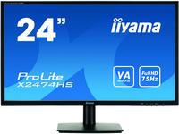 iiyama ProLite X2474HS-B1 23.6Zoll Full HD TN Schwarz Flach Computerbildschirm (Schwarz)