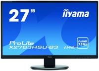 iiyama ProLite X2783HSU-B3 27Zoll Full HD A-MVA Matt Schwarz Flach Computerbildschirm (Schwarz)
